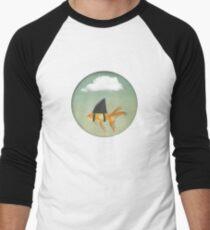 Under a Cloud, Goldfish with a Shark fin Men's Baseball ¾ T-Shirt