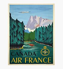 Vintage poster - Canada Photographic Print