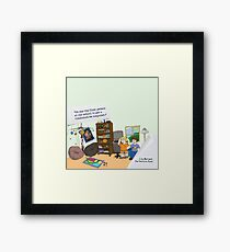The Weekend Cash Call - Commodore 64 Computer Framed Print