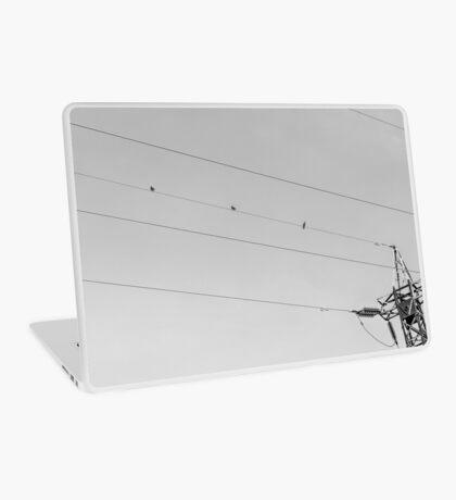 Tightrope Threesome (Studio pouches, laptop skin/sleeve) Laptop Skin