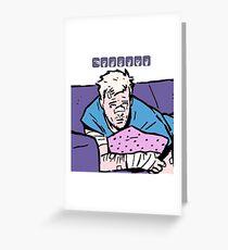 Clint Barton Greeting Card