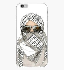 Woman in Keffiyeh iPhone Case