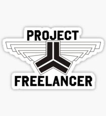 Red vs Blue: Project Freelancer Sticker