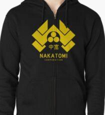 Nakatomi Corporation Zipped Hoodie