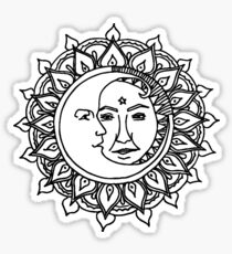 Sonne und Mond Sticker