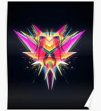 TAZOR (Abstract Future Scifi Artwork) Poster