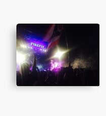 Firefly Music Festival Canvas Print