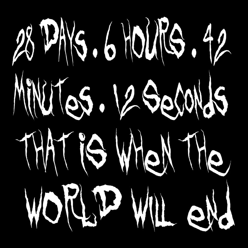Donnie Darko Quote - That Is When The World Will End | Art Print