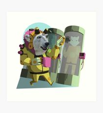 Peter Polar: Cryogenics Engineer Art Print
