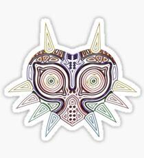 Ornate Majora's Mask Sticker