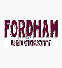 Fordham University Photographic Print