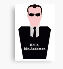 Agent Smith Canvas Print