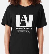 U.A. High Plus Ultra logo - (My Hero Academia, Boku no Hero Academia, BNHA) Slim Fit T-Shirt