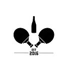 Champagne Pong - Est 2016 (Version II) by Dean Brown
