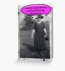 Fabulous! Greeting Card