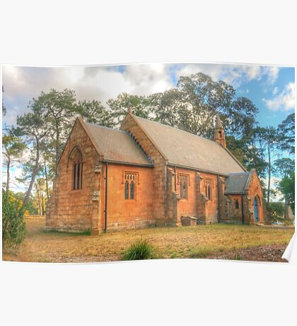 Berrima Holy Trinity Anglican Church Poster