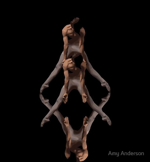 Dance With Me Male Dancer  by Amy Anderson