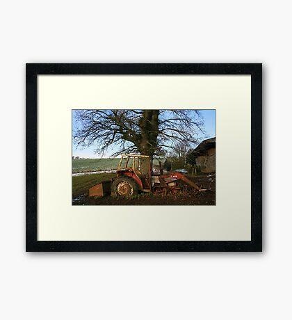 Axle Deep Framed Print
