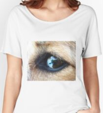 The World in Your Eyes Women's Relaxed Fit T-Shirt