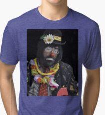 Clown Portrait Tri-blend T-Shirt