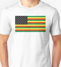 Pan-African American Flag 4 T-Shirt
