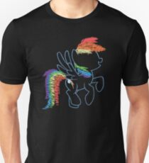 Sprayed Rainbow Dash T-Shirt