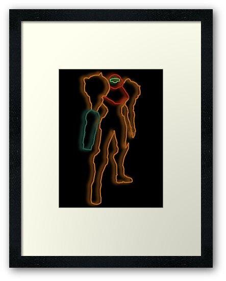 Minimalist Samus by Colossal