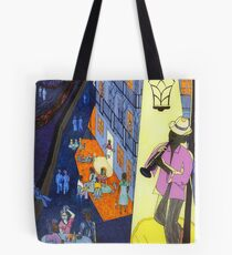New Orleans, here music is being born, every day anew (My dreams of America, part 2) Tote Bag