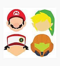 Nintendo Greats Photographic Print