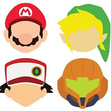 Nintendo Greats by MoleFole