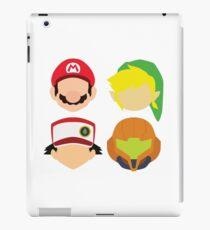 Vinilo o funda para iPad Nintendo Greats