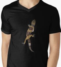 Leopard Gecko - Climbing Men's V-Neck T-Shirt