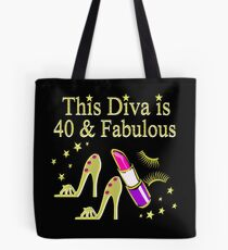 GOLD SPARKLING FABULOUS 40TH DESIGN Tote Bag