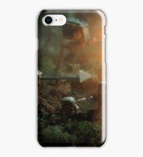 Star Wars Empire AT War jungle city iPhone Case/Skin