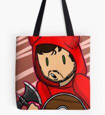 ZeRoyalViking (Red) Tote Bag