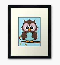 Mrs Owl  Framed Print