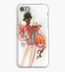 Casually on Fire iPhone Case/Skin