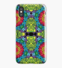 Psychedelic LSD Trip Ornament 0013 iPhone Case/Skin