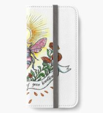 Bees and Heart iPhone Wallet/Case/Skin