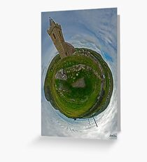 Glencolmcille Church - Sky Out Greeting Card