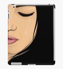 Crying Girl iPad Case/Skin