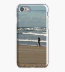 Treasure Search - Beachcomber Series iPhone Case/Skin