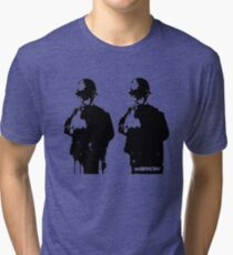 Banksy - Rude Coppers Tri-blend T-Shirt