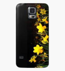 daffs.on.blk Case/Skin for Samsung Galaxy