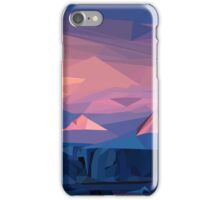 Mountain Sunset iPhone Case/Skin
