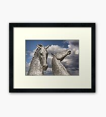 The Kelpies Framed Print