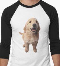 Puppy! Retriever! Men's Baseball ¾ T-Shirt