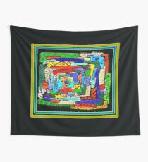 """""""Concentrification"""" Transparent Overlay Wall Tapestry"""
