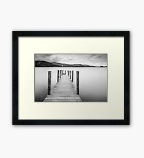 Lake District Jetty Framed Print