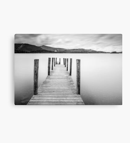 Lake District Jetty Metal Print